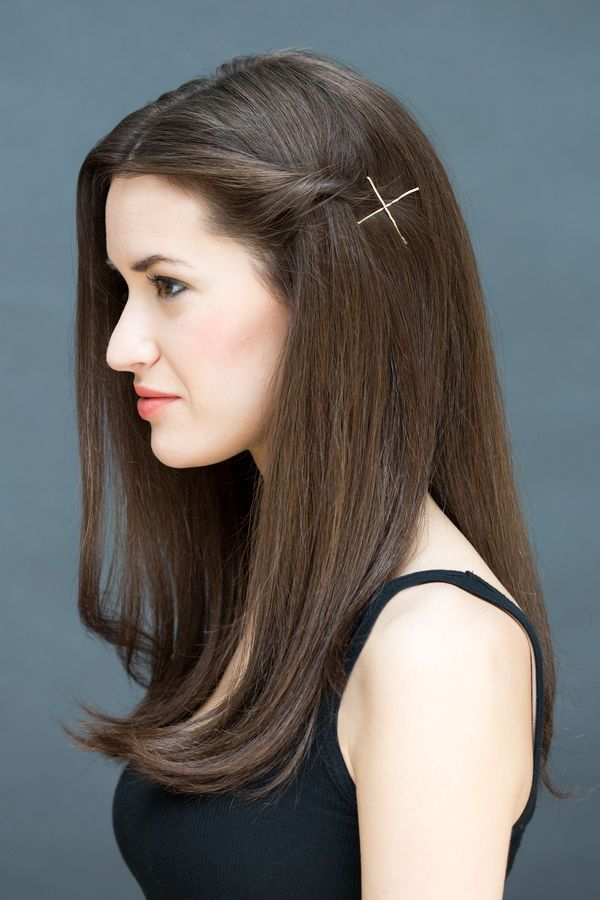 Quick and easy hairstyles for long straight hair 5