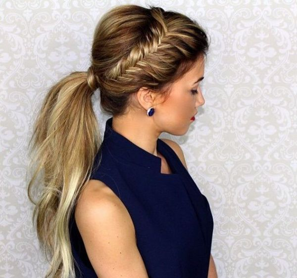 Quick and easy hairstyles for long straight hair 9