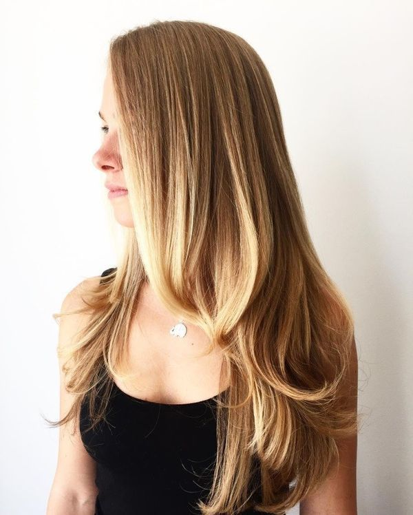 Trendy long straight hairstyles with layers 1