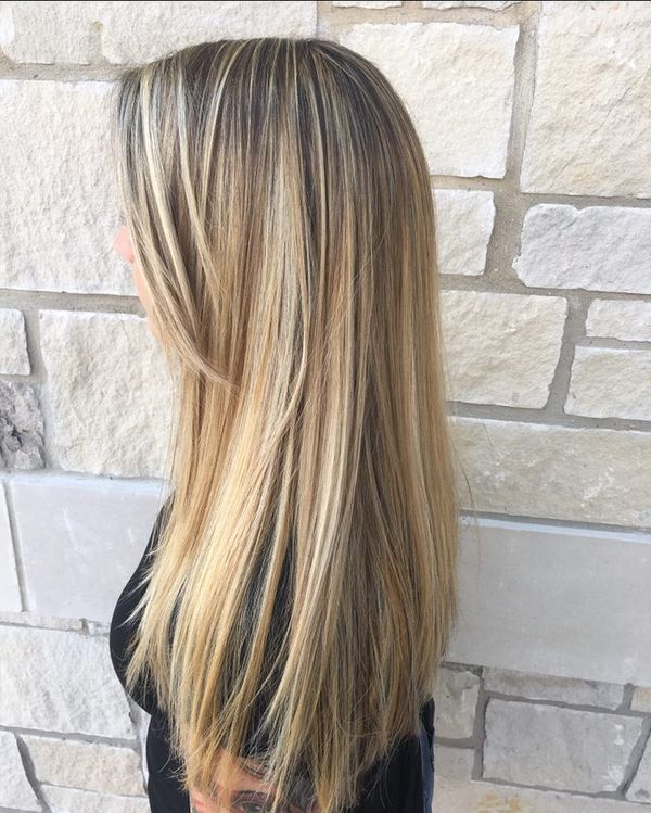 Trendy long straight hairstyles with layers 6