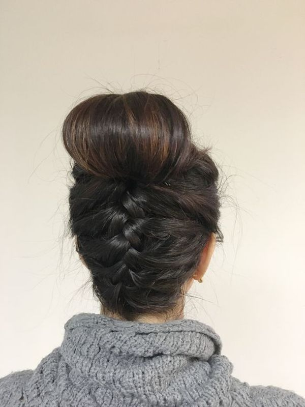 Pinned up Hairstyles for Long Hair 1