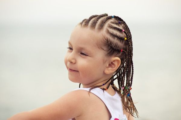 Easy Cornrow Braid Styles for Kids 1