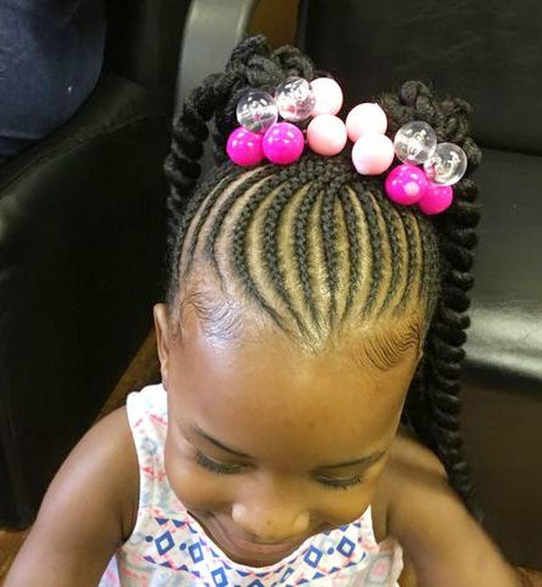 Easy Cornrow Braid Styles for Kids 3