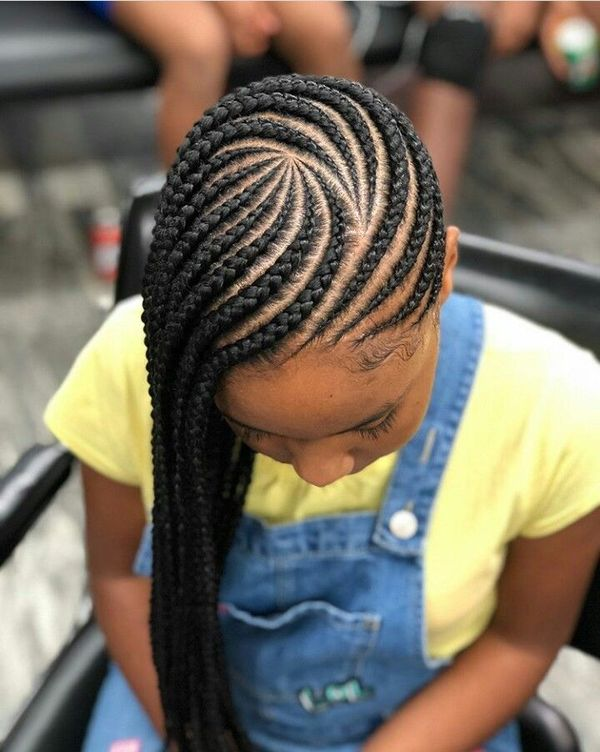 Easy Cornrow Braid Styles for Kids 2