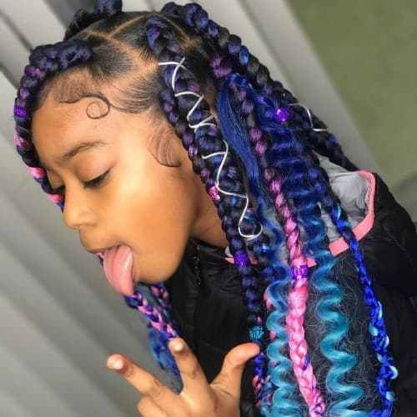 Children's Braids: Black Hairstyles 4
