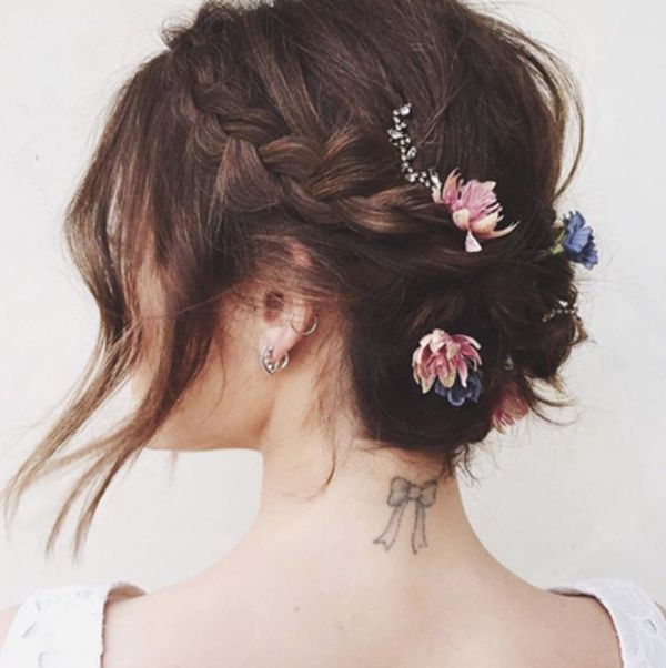 The Best Up Hairdos for Long Hair 2