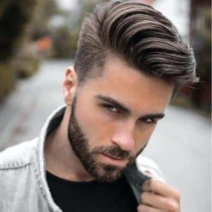 Unique hairstyle men