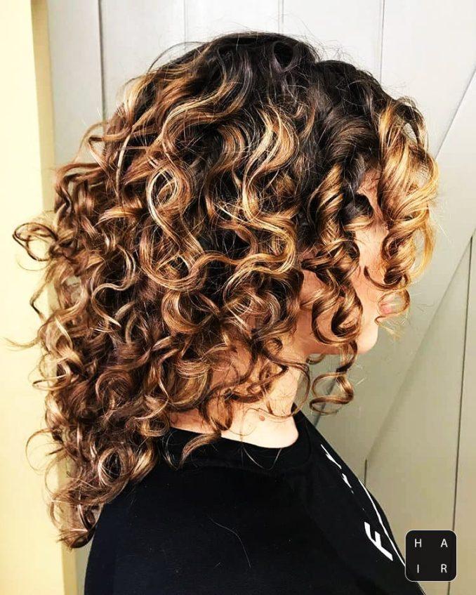 curly hair-curly hair style