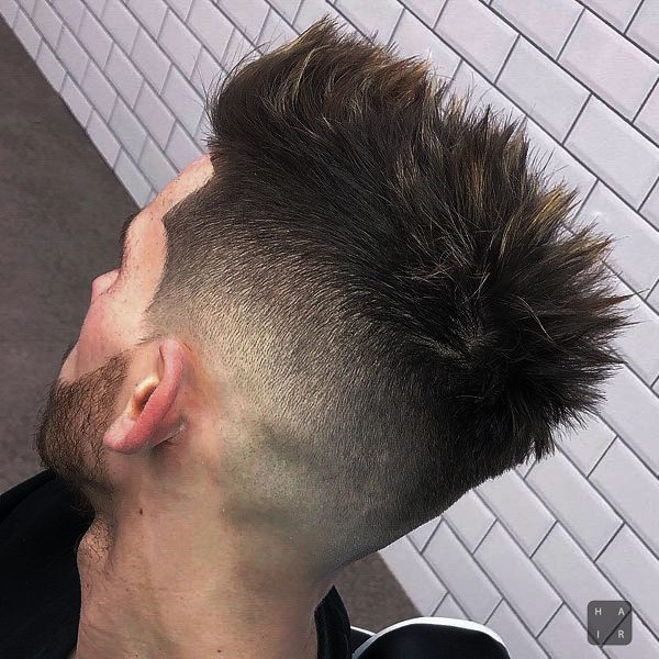 Short Sides and Back Taper