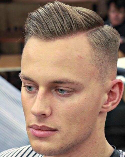 Short Sides with Hard Side Part