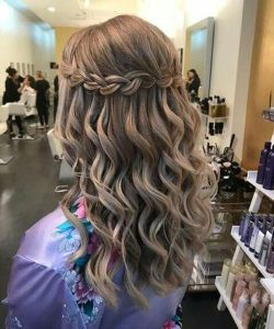 Ideal Waterfall Braided Hairstyles 2020 That are Simply Gorgeous