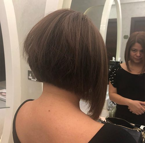 Shaggy-Haircut-Styles-2020-for-Women-inverted bob