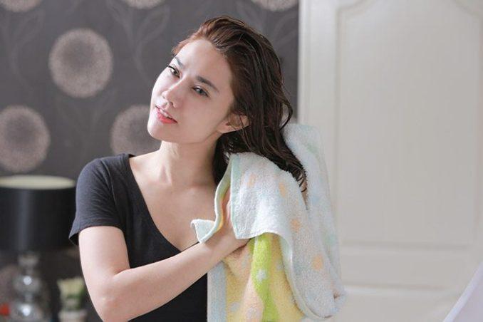 Hair care after the rain-hair care tips