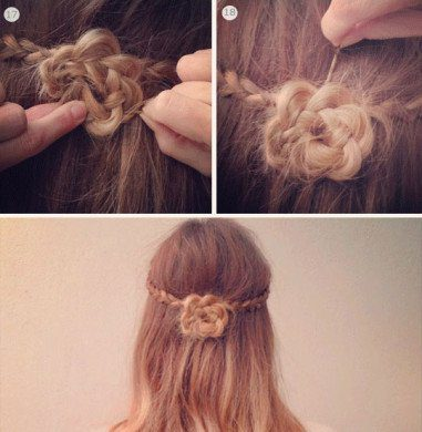 Hair-Style-Girl-Simple-And-Easy