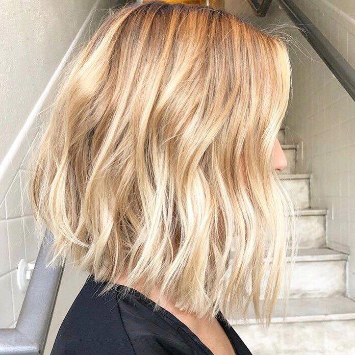 Shoulder Length Lob Haircut