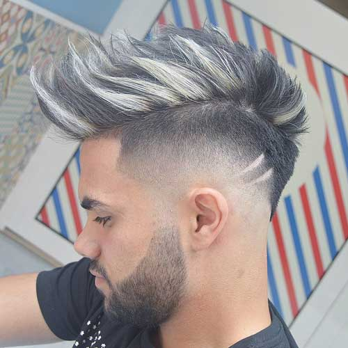 Burst-Fade-Faux-Hawk