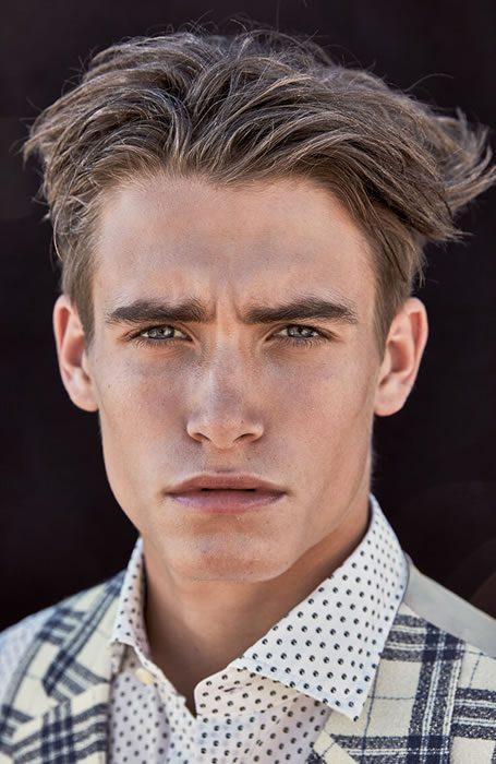 medium length hairstyles men