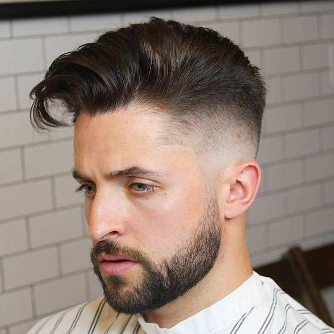 Taper Fade Haircut -Fade haircuts for men-men's fade haircuts-men's haircuts #menshair #menshaircuts