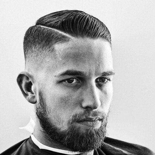 Comb Over Haircut Fade-Fade haircuts for men-men's fade haircuts-men's haircuts #menshair #menshaircuts