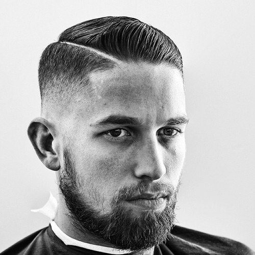 Comb Over Haircut Fade-Fade haircuts for men-men's fade haircuts-men's haircuts #menshair #menshaircuts