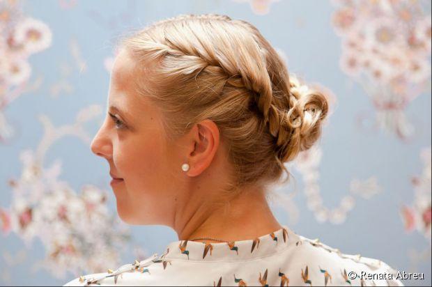 braided bun hairstyles step by step