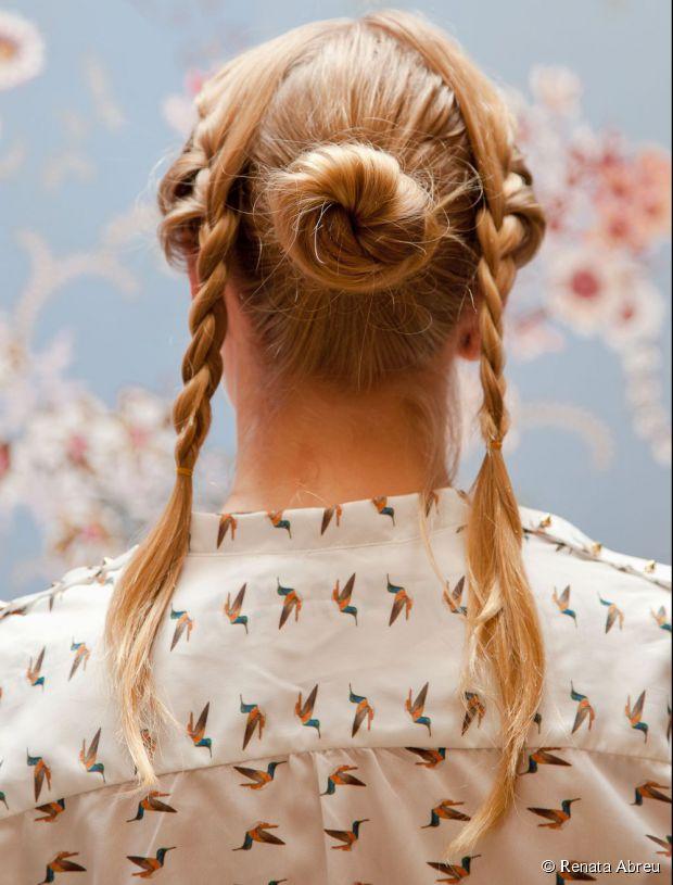 braided bun styles