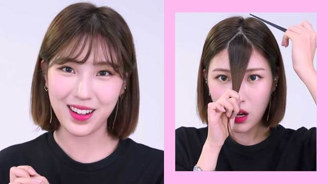 how to cut bangs yourself