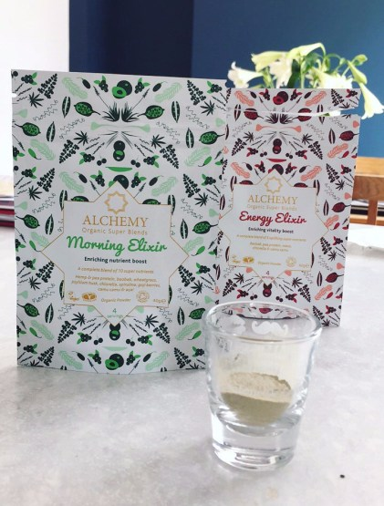 Morning Elixir, Energy Elixir, Alchemy Organic Superblends