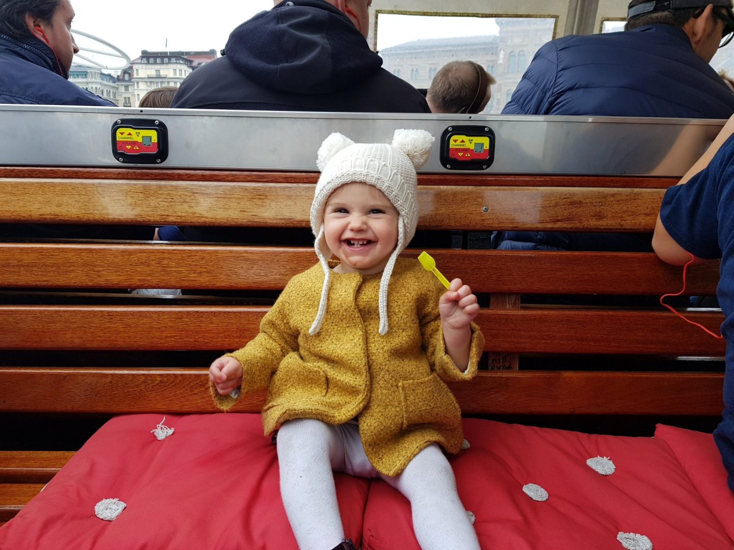 Travels with a Toddler Stockholm