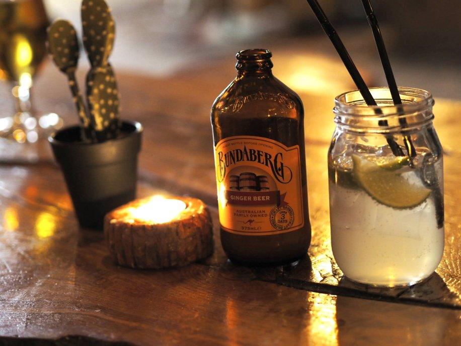 Geronimos Stockholm Bundaberg ginger beer
