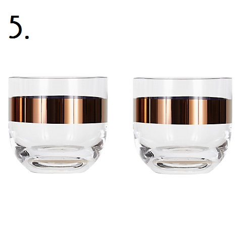 Tom Dixon Whiskey Glasses