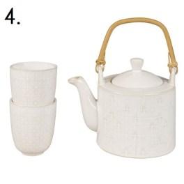 Stonewear teapot