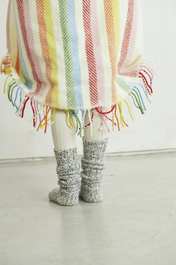 Woollen Pram Blanket by Lala and Bea