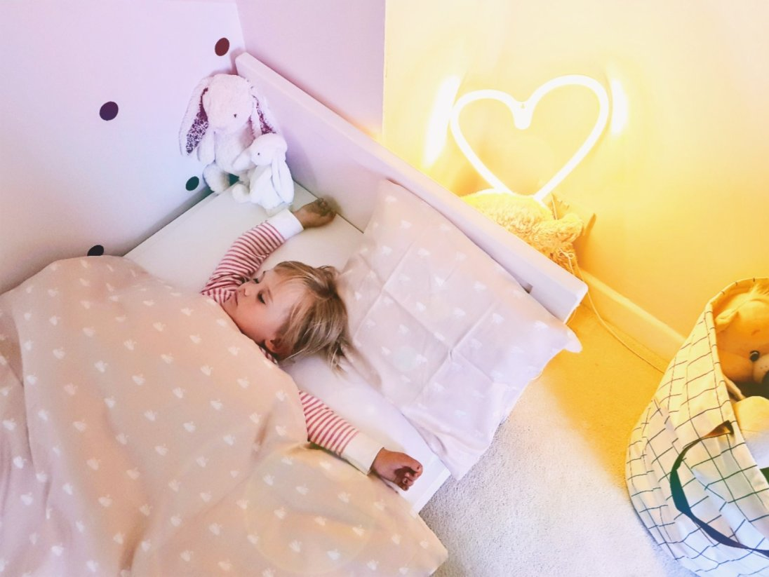 Converting cot to Big Girls Bed| Ettie and Me