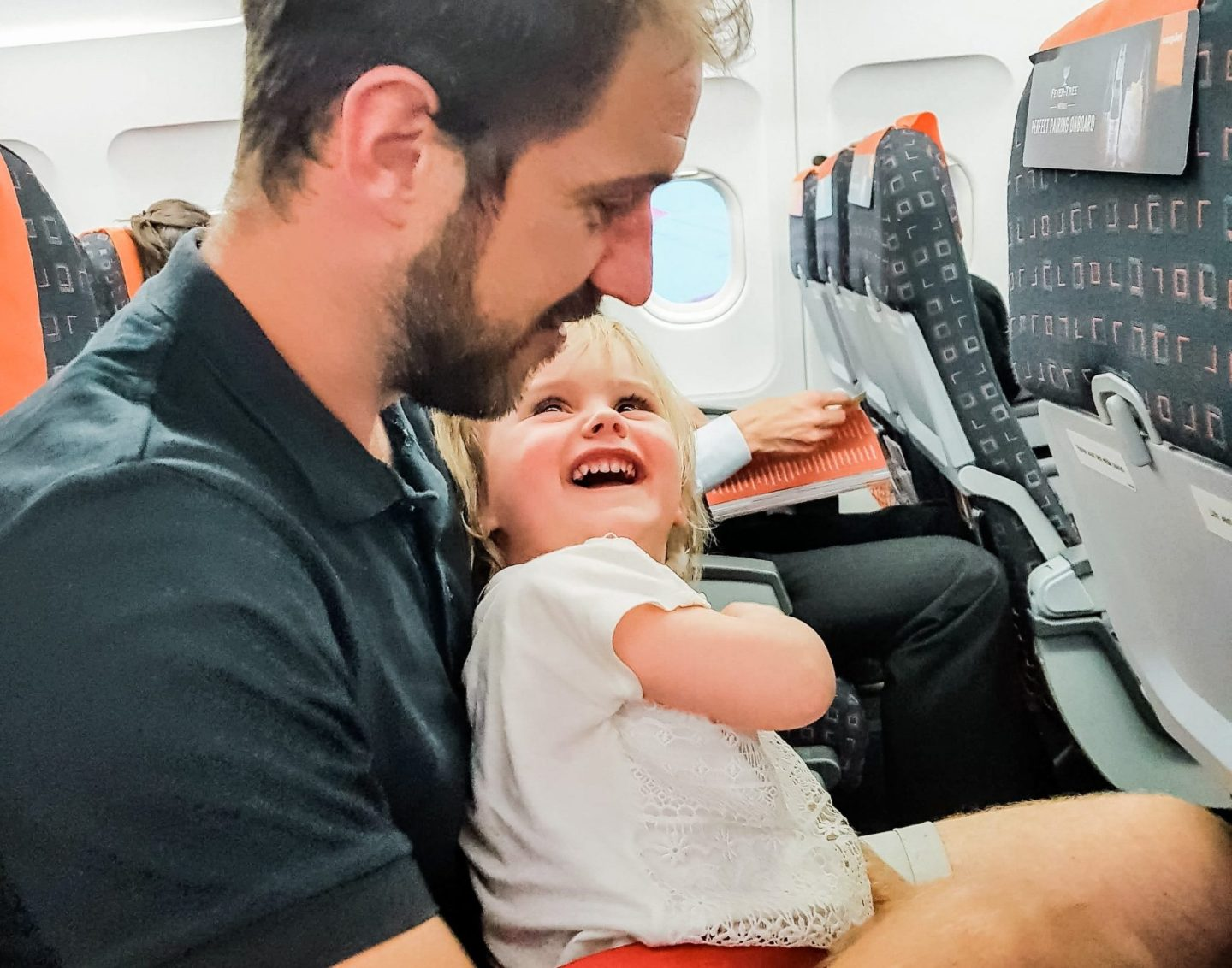 Flying with a toddler | The Halcyon Years