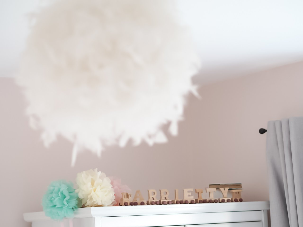 A Modern Pink Girls room with a Scandinavian twist | The Halcyon Years