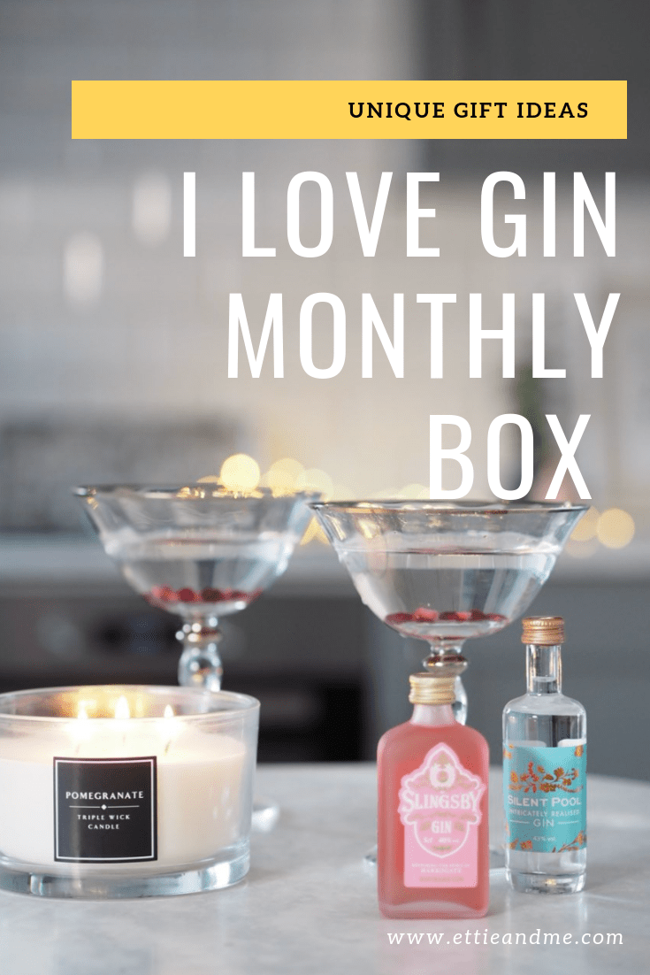 I love Gin Subscription Box Review | Gin Club | Christmas gift Itea | Ettie and Me