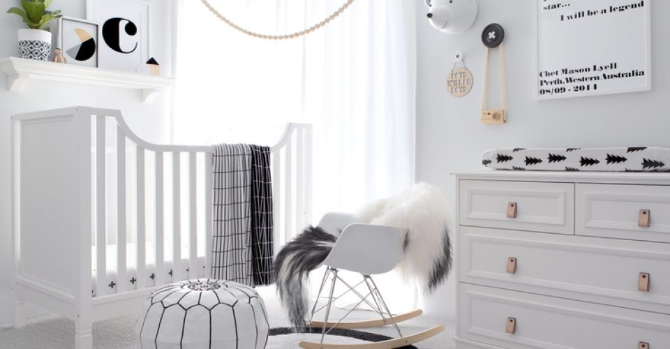 Room Planning: A Monochrome Baby Boys Room