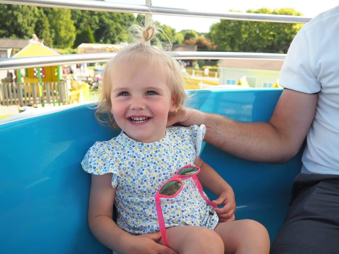 Ettie turns Two : A Birthday trip to Peppa Pig World (Paultons Park)