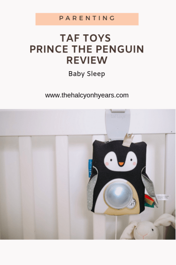 Taf Toys Prince the Penguin baby soother, review |