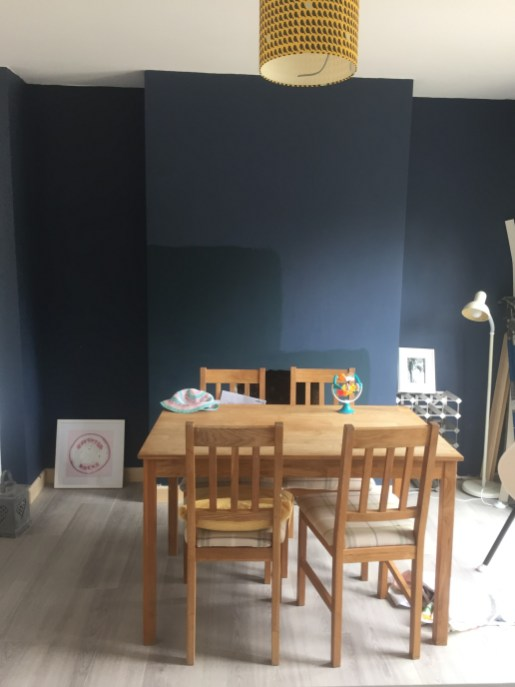 Dining room changing colour