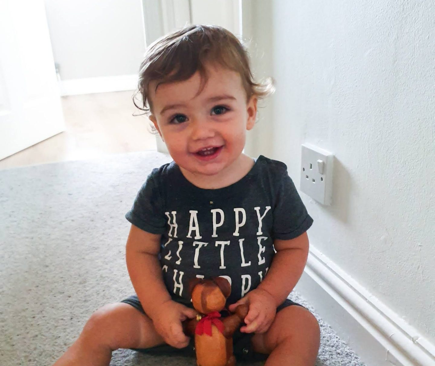Letters to Ollie {14 months old}