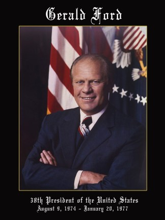 President Gerald Ford Poster