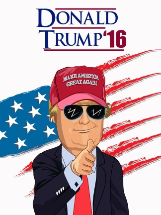 donald trump 2016 presidential election poster