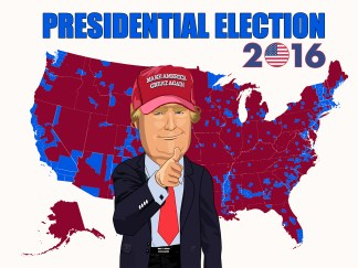 2016 PRESIDENTIAL ELECTION POSTER
