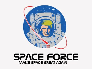 President Trump Space Force Poster