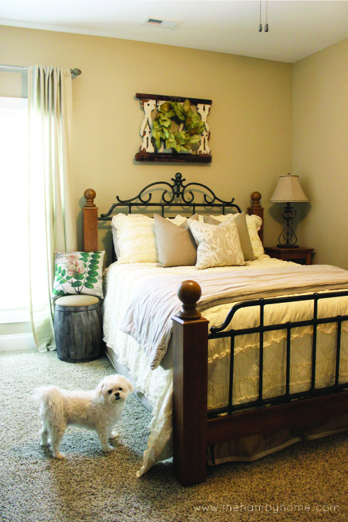 Neutral Guest Room Tour The Hamby Home
