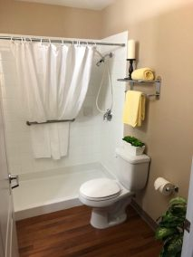 Red Deer Studio Rental Senior Bathroom