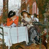James Tissot's Directoire series, 1868-71