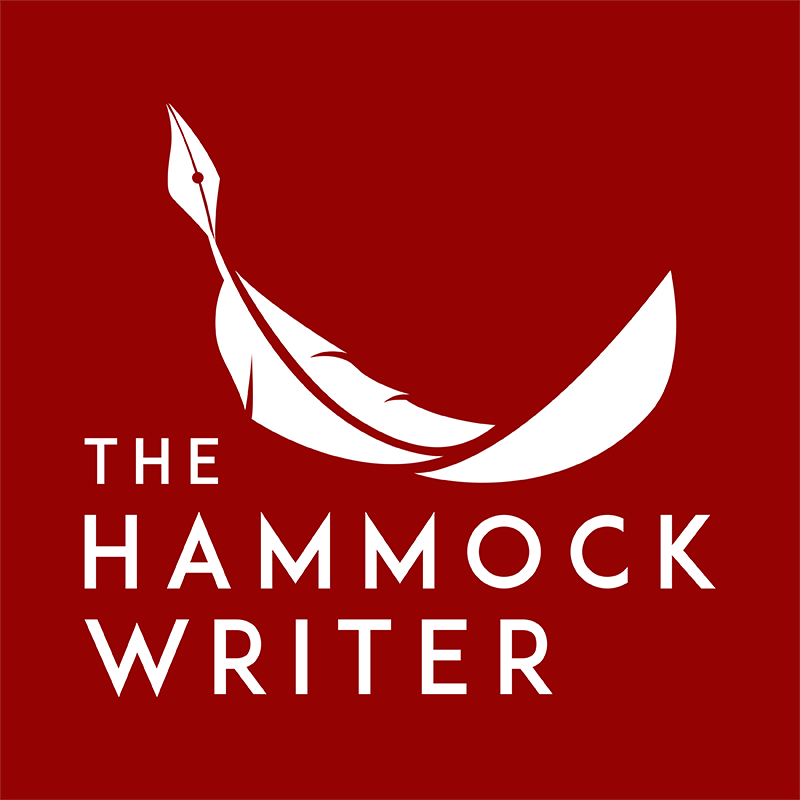 The-hammock-writer-Logo-white-on-red-square